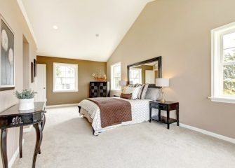 Beautiful quality bedroom carpet