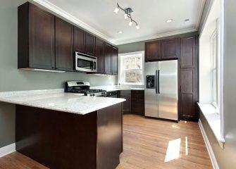 Easy to clean vinyl flooring in your kitchen