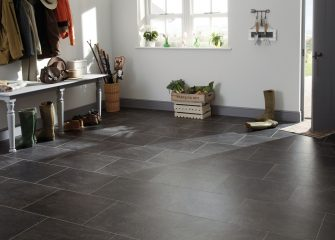 Tough Karndean flooring in hallway